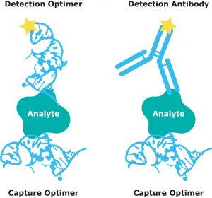Aptamer detection